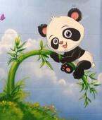 ציורי קיר חדרי פעוטות